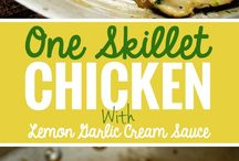 One skillet chicken / Chicken