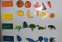 SAHM / Teaching colors