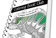 The colouring in book