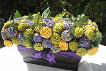 Cute Cake Ideas / DIY beautiful cake and cupcake design ideas. / by Jami Balmet | Young Wife's Guide