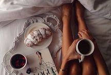 breakfast..coffee..books..lazy sundays