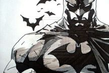Batman sketch art class