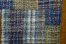 Hand stitching / Sashiko, Kantha, Utility quilting