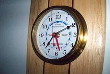 Surfboard Clocks