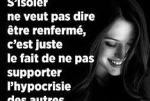 Mes phrases et situation