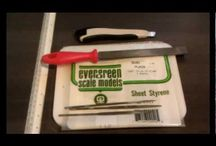 styrene sheets and rods
