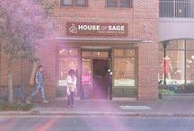 business walk downtown Charleston