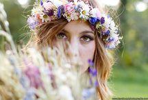 Floral Headdress Crowns
