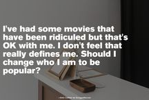 Quotes https://t.co/J5jTFqDn1r #quotes #word #fancyquotes @fancyquotes_com I've had some movies that have been ridiculed b