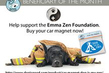 Emma Zen Foundation / Dog is Good is so proud to have the Emma Zen Foundation as our beneficiary of the month. The Emma Zen Foundation raises funds for pet oxygen masks for donation to fire departments and other first responders. Learn more about their story and life-saving cause at www.emmazenfoundation.com / by Dog is Good