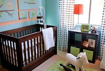 kleurrijke babykamer