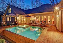U-Shaped House Plans