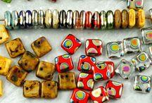 Squarelet Square Sequins Paillettes Czech Glass Beads