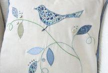 My Fabric Heavenly Applique / Heavenly applique inspiration.