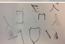 Idéer (E-DESIGN) / Idéer til lamper i forbindelse med 1. semester eksamen på uddannelsen E-Designer, Entreprenør og Designmanagement, IBA Kolding.
