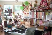 Quilt Shop Ideas / my dream shop will have...
