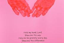 Bible hands activities