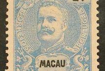 Portugal - Macau Stamps