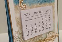 Handmade Fridge Calendar