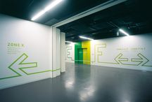Built Environment design / wayfinding supergraphics et