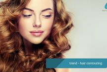Haar Trends / Latest trends for hair styles, colour and cutting