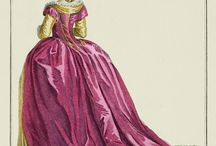 XVIII a la turque / XVIII w. suknia a la turque