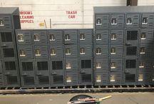 Standard MS - Bakersfield, CA #Lockers #DeBourgh