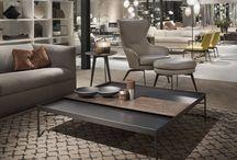 Accesorii mobilier design / O colecție amplă și variată de accesorii, în culori și materiale din cele mai diverse, născută din colaborarea LEMA cu importanți designeri internaționali, desenate pentru a amenaja cu eleganță orice ambient.