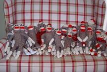 Sock Monkey Fun / by Cathie Flaherty Stemple