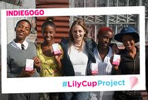 LILY CUP PROJECT / Follow our latest project with Theodora Lee! We want to donate Lily Cups to girls in South Africa who have no access to basic menstrual hygiene products. Find out more about the project here http://bit.ly/2dijbCo  #GiveGirlsCups