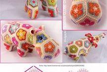 Patrones de muñecos tejidos a crochet