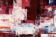 Neil Young the Artist / A collection of mixed media abstract art from Koyman Galleries.