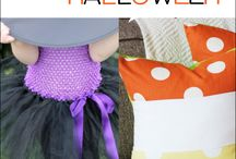 Halloween Sewing & DIY Inspiration / All about sewing for Halloween!!