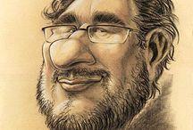Schnellzeichner und Karikaturist