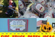 Fire Truck Birthday Party Ideas / by Devon Weaver (Mama Cheaps)