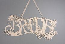 Häät // Wedding / Inspiraatiota laserleikattuihin häätuotteisiin.