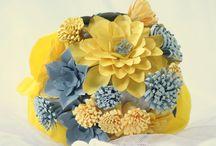 Matrimonio Giallo&Grigio / Una palette colori molto insolita,ma ideale per un matrimonio allegro e allo stesso tempo elegantissimo