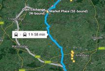 Viaggio in Inghilterra / Viaggio a Stonehenge, Long Barrow e Silbury Hill