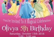 Olivia 3rd Birthday