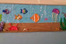 Denizaltı panosu okul öncesi