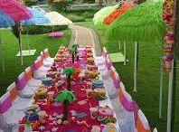 PARTY THEME - Kids Luau Hawaiian Tropical Summer
