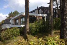 Maison - Crozon (29) / Maison d'habitation  - JANVIER 2013 - MAITRISE D'OUVRAGE : PRIVÉE - SURFACE : 276m2 - MATÉRIAUX : Béton, Acier - MISSION COMPLÈTE