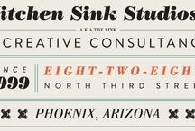 Typo / Typographic, lettering