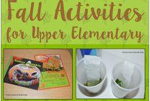 Fall Math for Upper Grades / Fall themed math activities for upper grades.