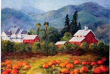 Art - Virginia Gunderson / by Peggy Bousman