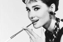 The elegance of Audrey / by Elda Di Felice