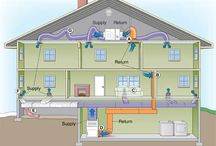 #Sealing #House #Ducts / In houses with forced-air heating and cooling systems, ducts are used to distribute conditioned air throughout the house. In a typical house, however, about 20 percent of the air that moves through the duct system is lost due to leaks and poorly sealed connections. The result is higher utility bills and difficulty keeping the house comfortable, no matter how the thermostat is set. www.realsmartbuyer.com