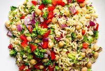 Simple veg salads
