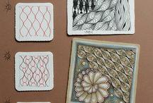 Akuka art and zenjoy patterns