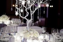 Center of Attention / Wedding centerpieces, sweetheart tables, and escort card tables